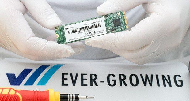 LincPlus SATA SSD Festplatten im Test - Sequentielles Lesen mit bis zu 530 MB / s, sequentielles Schreiben mit bis zu 440MB/s. Die Lese- / Schreibgeschwindigkeit beträgt 6GB/s