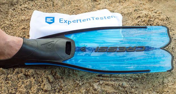 Cressi Unisex Tauchset Rondinella im Test - die ideale Flosse zum Schnorcheln, Schwimmen und für Apnoetauchgänge
