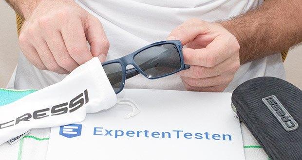 Sport Sonnenbrille Rio von Cressi im Test - leichte Sonnenbrille für die Freizeit und das Outdoor-Leben geeignet