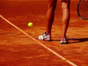 Tennisschuhe Asche