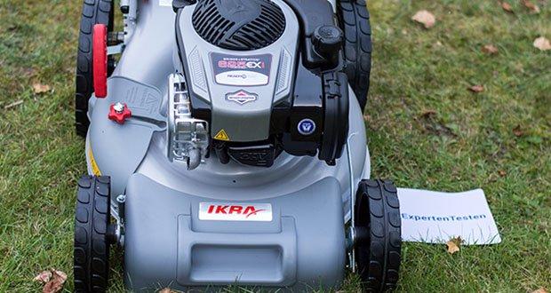 IKRA Benzin 4in1 Rasenmäher Mulcher im Test - einfach, leistungsstark & zuverlässig