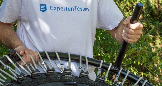 bellicon Classic Mini-Trampolin im Test - 3 Jahre Garantie auf Rahmen und Matte, 6 Monate Garantie auf Gummiseilringe