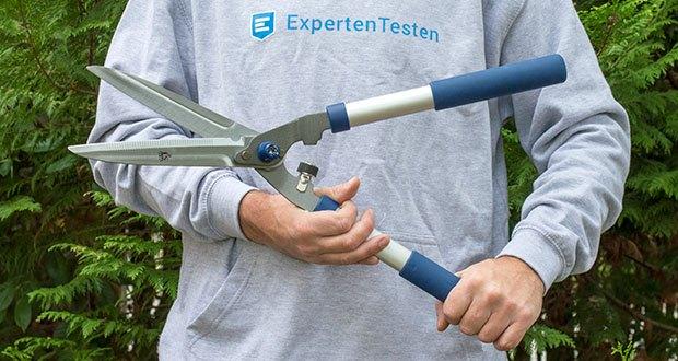 Spear & Jackson Razorsharp manuelle Heckenschere im Test - mit silberner Klinge
