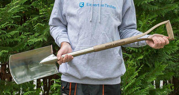 Traditionelle Grabespaten von Spear & Jackson im Test - entworfen für allgemeine Grabearbeiten und Arbeiten im Garten oder Schrebergarten