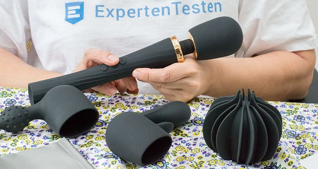 Tracy's Dog Deluxe Magic Massagestab mit 3 Aufsatz im Test