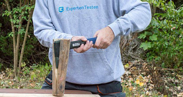 Spear & Jackson Kleine Spaltaxt im Test - gehärtet und angelassen Kohlenstoffstahl Kopf für mehr Stärke und Langlebigkeit