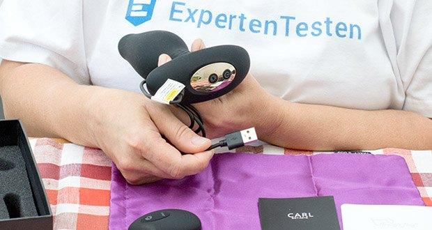Tracy's Dog Analplug Vibratoren im Test - Wiederaufladbar und Wasserdicht (IPX5)