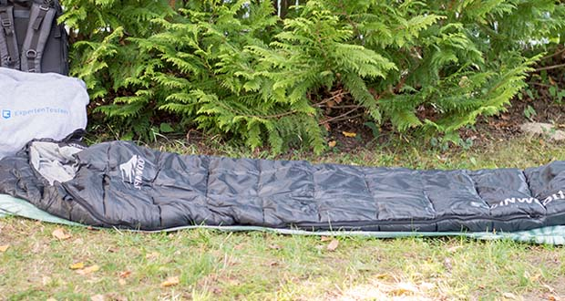 Steinwood Premium Hütten- Mumien-Schlafsack im Test - schlichtes, modernes Design