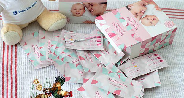 Der Ovulationstest von MediVinius - Für Ihre Chance schwanger zu werden!