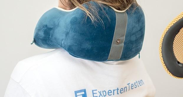 TravelFitter Reise Nackenkissen im Test - Neueste hochwertige Memory Foam Technologie bietet die perfekte und langlebige Stützfunktion für Erwachsene und zugleich höchsten Komfort