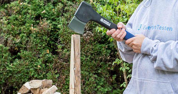 Spear & Jackson Kleine Spaltaxt im Test - Rutschfester weicher Griff Abschnitt für Bedienkomfort