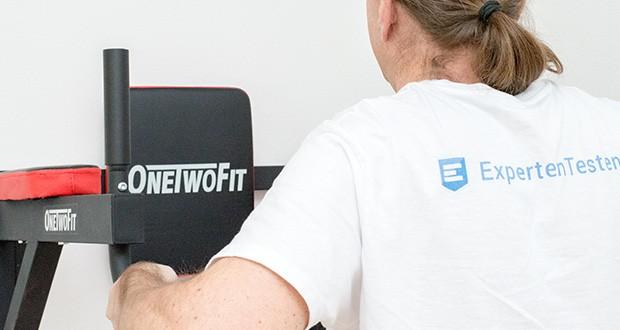 OneTwoFit Multifunktionale Klimmzugstange für die Wandmontage im Test - geeignet für bis zu 150 kg