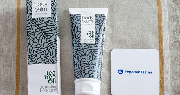Das After shave Balsam für Damen von Australian Bodycare ist besonders wirksam, um die Haut zu beruhigen und Rötungen, Reizungen, Pickel und Rasierbrand zu vermeiden
