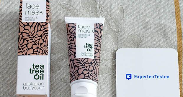 Australian Bodycare Gesichtsmaske mit natürlichem Teebaumöl im Test - verwendet nur die besten Inhaltsstoffe aus der Natur