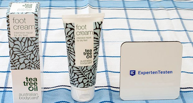 Australian Bodycare foot cream im Test - Fußcreme gegen trockene Füße & Hornhaut