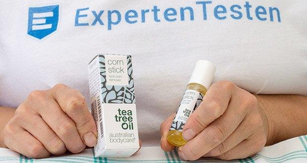 Australian Bodycare corn stick Hornhaut & Hühneraugen Entferner im Test - erweicht Hühneraugen und Hornhaut und entfernt überschüssige Haut
