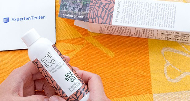 Australian Bodycare Anti Lice – Einfache und Einmalige 15 Min. Kopfläusebehandlung mit Teebaumöl