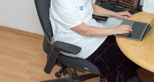 """Bürostuhl """"NextBack"""" von Ergotopia bringt endlich Linderung bei lästigen Schmerzen"""
