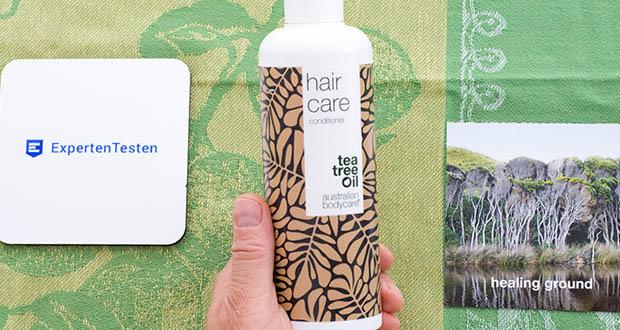 Australian Bodycare Hair Care im Test - das Teebaumöl wirkt natürlich und hilft gegen Schuppen, Juckreiz und andere Reizungen, Panthenol stellt die Haarstruktur wieder her und bringt den Feuchtigkeitshaushalt in Balance