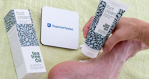 Australian Bodycare Hornhaut Fußcreme im Test - Das natürliche Teebaumöl bekämpft und schützt die Haut effektiv vor Probleme