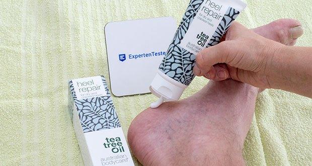 Australian Bodycare Heel Repair Hornhautentferner im Test - Enthält natürliches, hochwertiges Teebaumöl und bietet alle natürlichen Vorzüge von Teebaumöl