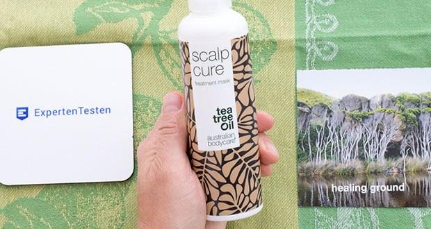 Australian Bodycare Scalp Cure im Test - tiefenreinigende Kopfhautpflege mit Teebaumöl gegen Schuppen, Juckende, Gereizte und Trockene Kopfhaut