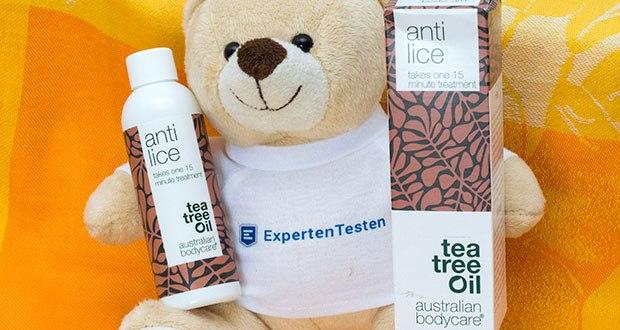Australian Bodycare Anti Lice Kopfläuse Mittel im Test - wirksames Heilmittel für die Behandlung von Läusen und Läuseiern mit natürlichem Teebaumöl