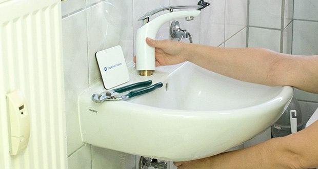 Homelody Waschtischarmatur im Test - hat ein passendes Ablaufventil B07B6LZVBF