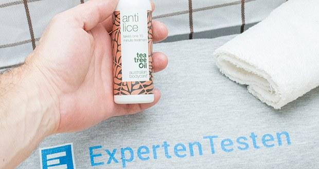 Australian Bodycare Anti Lice Kopfläuse Mittel im Test - Läusemittel mit Dimeticon gegen Läuse und Nissen; geeignet für Kinder ab 3 Jahren
