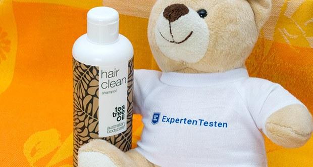 Australian Bodycare Hair Clean Teebaumöl Shampoo im Test - dieses Shampoo wurde speziell für trockene und juckende Kopfhaut entwickelt; enthält 100% original Teebaumöl aus Australien