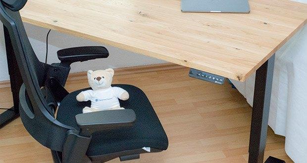 Ergotopia NextBack Ergonomischer Bürostuhl im Test - Inklusive PU-Rollen, die für Teppich- und Hartböden geeignet sind