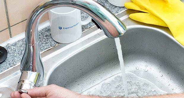 Homelody Küchenarmatur im Test - Bubbler-Wasser ist Wasser und Luft mischen, damit das Wasser schäumt: dies reduziert effektiv den Wasserverbrauch und spart Wasser