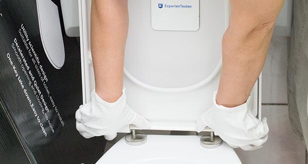 HOMELODY Toilettendeckel im Test - ist für fast jedes handelsübliche Toilette geeignet