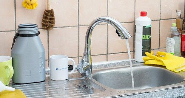Homelody Küchenarmatur im Test - Schwanenhals-Design, luxuriös genießen, 5 Jahre Garantie