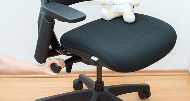 Ergotopia NextBack Ergonomischer Bürostuhl im Test - Stufenlos höhenverstellbar für die ideale Sitzhöhe
