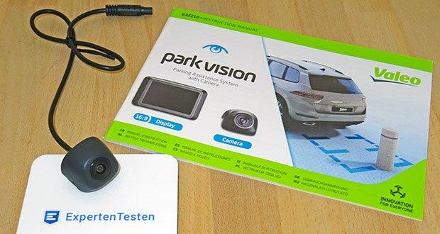 VALEO Einparkhilfe parkvision im Test - Anzeige von Parkassistenzlinien auf dem Display für entspanntes Einparken