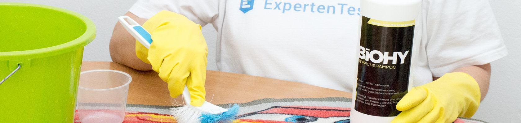 Teppichreiniger  im Test auf ExpertenTesten.de
