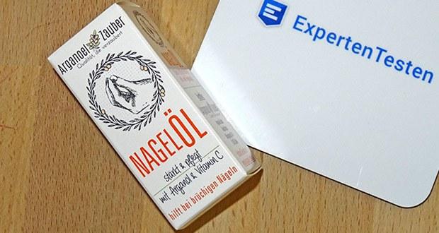 Arganoel-Zauber Nagelöl, Nagelhärter im Test - entwickelt & hergestellt Deutschland