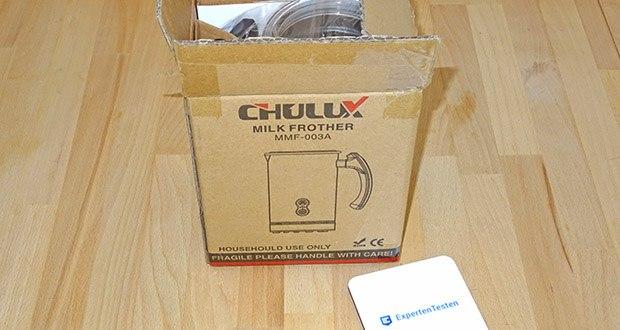CHULUX Milchaufschaeumer im Test - Produktabmessungen: 15,5 x 10 x 18,5 cm; Nettogewicht: 0,97 kg