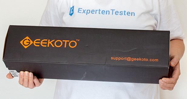 GEEKOTO Aluminum Stativ AT24Pro im Test - einstellbar und erweiterbar, leichtgewichtiges und tragbar