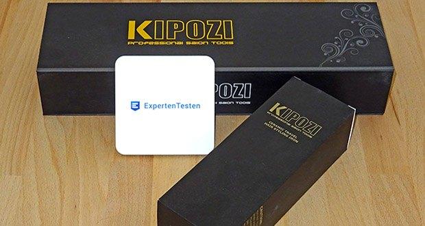 KIPOZI Glätteisen im Test - intelligente Temperaturanpassung zum Hitzeschutz sowie automatische Abschaltfunktion