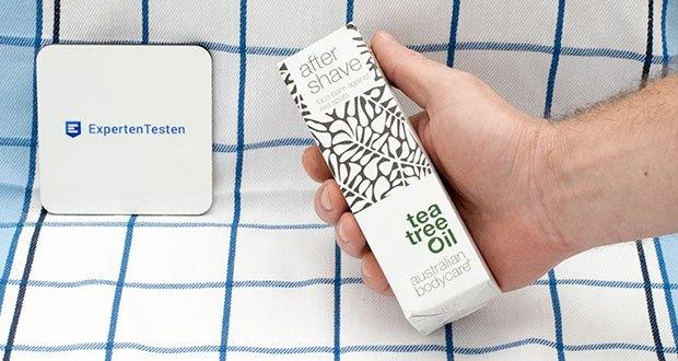 Australian Bodycare Aftershave Balm mit Teebaumöl im Test - gegen eingewachsene Haare und Rötungen nach der Rasur