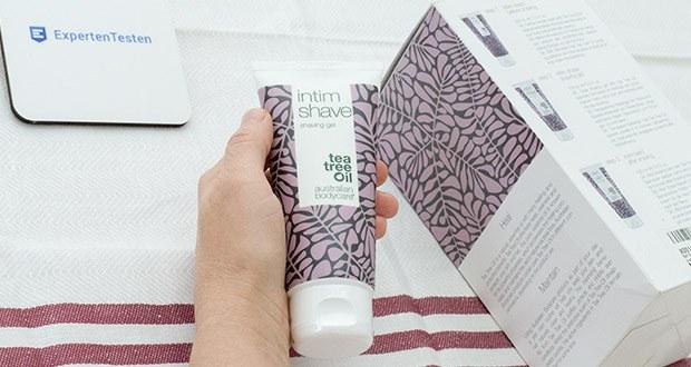 Australian Bodycare Rasiergel im Test - enthält natürliches Teebaumöl, das probleme entgegenwirkt und die Haut nach der Rasur gesund und sauber hält