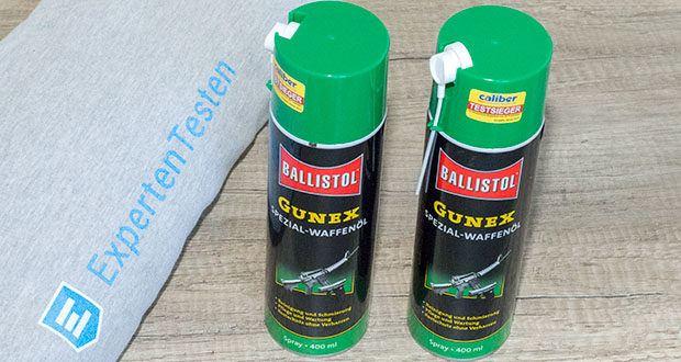 BALLISTOL Gunex Waffenöl Spray im Test - ist das ideale und mehrfach ausgezeichnete Ölspray zur Waffenpflege und Langzeitkonservierung blanker metallischer Teile auch bei extremen Bedingungen (-50°C bis 100°C)