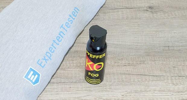 Ballistol KO-FOG Pfefferspray im Test - mit höchstdosiertem natürlichen Cayenne-Pfefferkonzentrat Oleresin Capsicum in Lebensmittelqualität