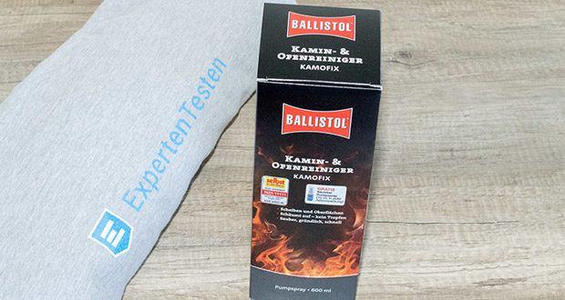 BALLISTOL Reiniger Kamofix im Test - enthält keine Tenside, Enzyme, Bleichmittel und kein Wasserstoffperoxid