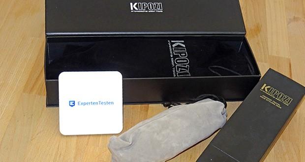 KIPOZI Glätteisen im Test - das Glätteisen aus Titan bietet eine gleichmäßige Hitzeabgabe und macht Ihr Haar glänzend und seidig glatt