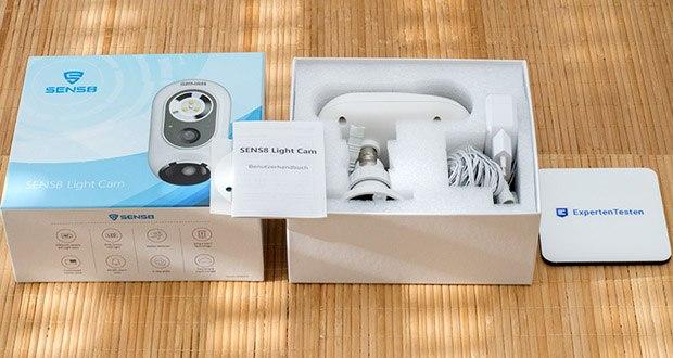 SENS8 Light Cam Überwachungskamera im Test - lokale Speicherung auf 8 GB (eingebauter eMMC Speicher)