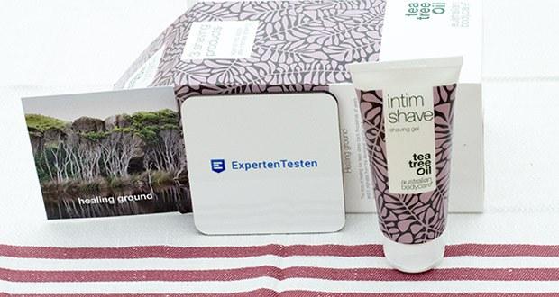 Australian Bodycare Rasiergel im Test - Rasiergel für den Intimbereich mit Teebaumöl