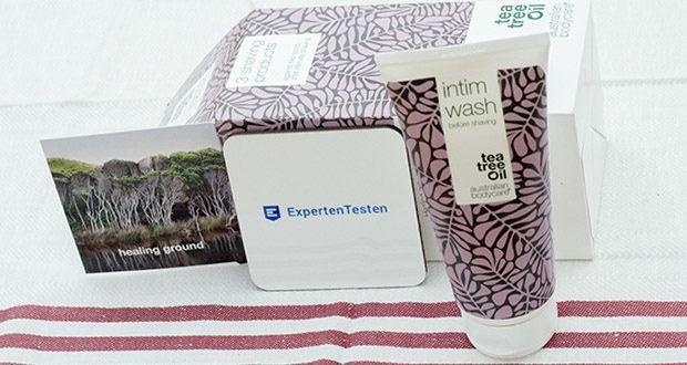 Intim Waschgel für Intimpflege mit Teebaumöl, bis vor der Rasur für Sauberkeit und Verunreinigungen – Intimwaschlotion für die tägliche Pflege - Pflege mit Milchsäure und Natürliche Teebaumöl